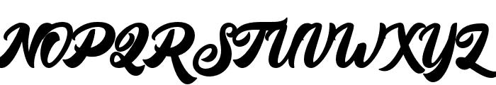 BigBlueBold-Bold Font UPPERCASE