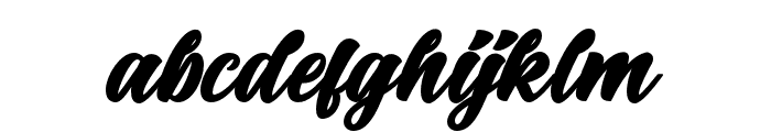 BigBlueBold-Bold Font LOWERCASE