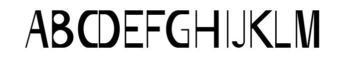 Bigboy Font UPPERCASE