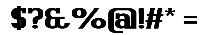 BigboyOT-Black Font OTHER CHARS
