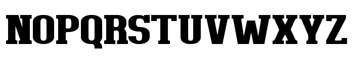 BigboyOT-Black Font UPPERCASE
