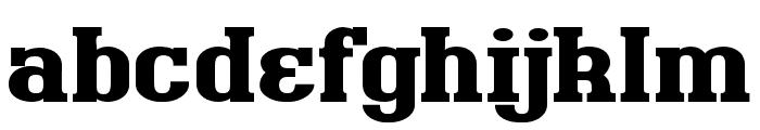 BigboyOT-Black Font LOWERCASE