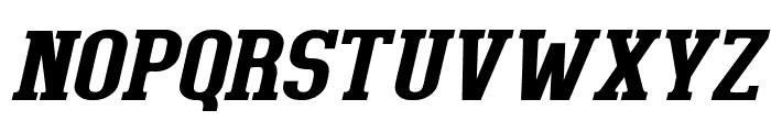 BigboyOT-BoldItalic Font UPPERCASE