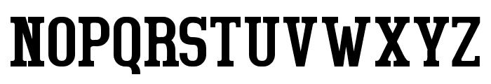 BigboyOT-Regular Font UPPERCASE