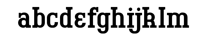 BigboyOT-Regular Font LOWERCASE