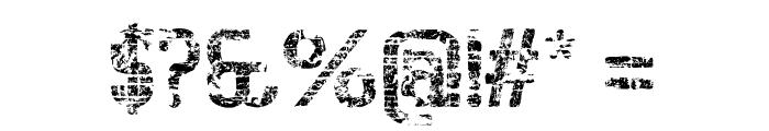 BigboyOTEighty-Regular Font OTHER CHARS