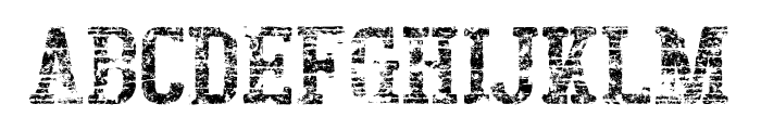 BigboyOTEighty-Regular Font UPPERCASE
