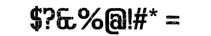BigboyOTFifty-Regular Font OTHER CHARS