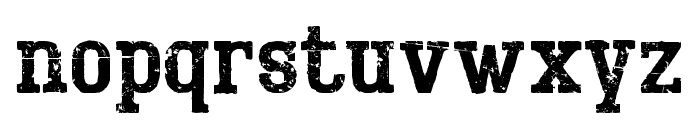 BigboyOTFifty-Regular Font LOWERCASE