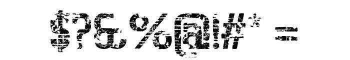 BigboyOTSeventy-Regular Font OTHER CHARS