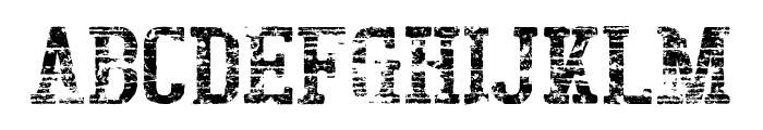 BigboyOTSeventy-Regular Font UPPERCASE
