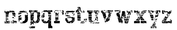 BigboyOTSeventy-Regular Font LOWERCASE