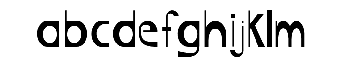 Bigboy Font LOWERCASE