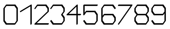 Bigger regular Font OTHER CHARS
