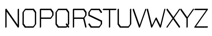 Bigger regular Font UPPERCASE