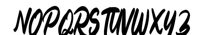 Billey Font UPPERCASE