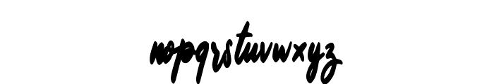 Billey Font LOWERCASE