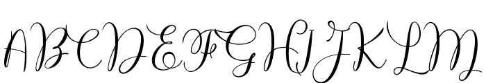 BillieEndria Font UPPERCASE