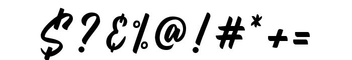 Billskates-Regular Font OTHER CHARS