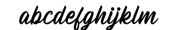 Billskates-Regular Font LOWERCASE