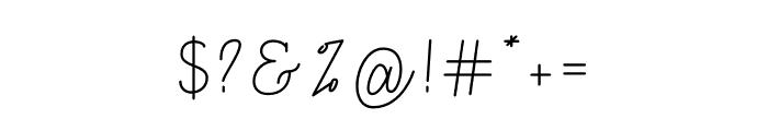 Billstone Font OTHER CHARS