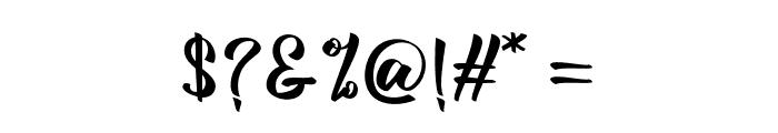 BillyTheGang Font OTHER CHARS