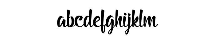BillyTheGang Font LOWERCASE