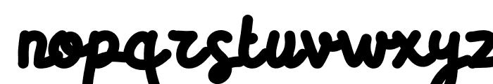 BiotechScript Font LOWERCASE