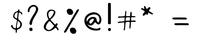 Bird house Regular Font OTHER CHARS