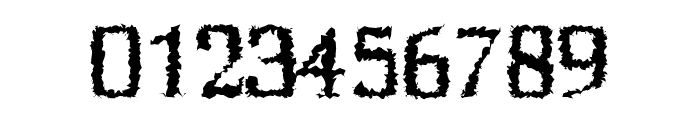 Birtle-Distorted Font OTHER CHARS