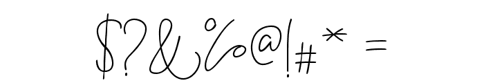 BitlameroBoldScript-Bold Font OTHER CHARS