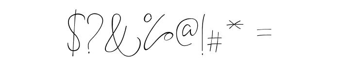 BitlameroScript-Regular Font OTHER CHARS
