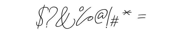 BitlameroSlantBoldScript-BoldIt Font OTHER CHARS