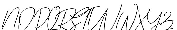 BitlameroSlantBoldScript-BoldIt Font UPPERCASE