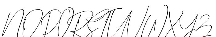 BitlameroSlantScript-Italic Font UPPERCASE