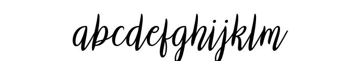 Biyanka Robert Italic Font LOWERCASE