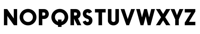 Black Box Font UPPERCASE