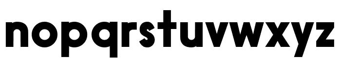 Black Box Font LOWERCASE