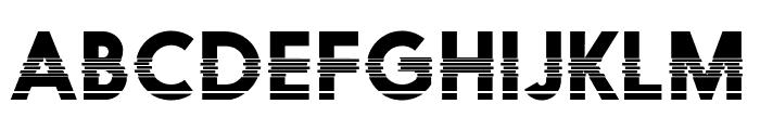 Black Boxes Font UPPERCASE