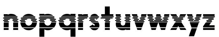 Black Boxes Font LOWERCASE