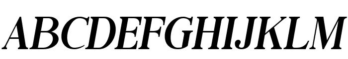 Black Drama Serif Italic Font LOWERCASE