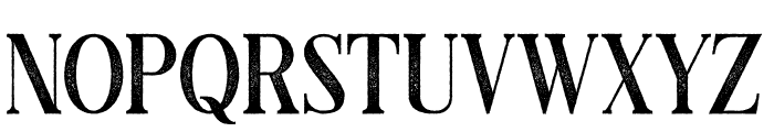 Black Drama Serif Rough Font UPPERCASE