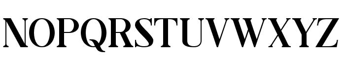 Black Drama Serif Font LOWERCASE