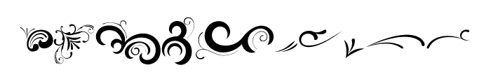Black Quality Ornaments Regular Font OTHER CHARS