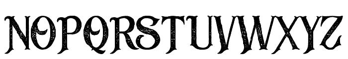 BlackDramaRough Font UPPERCASE