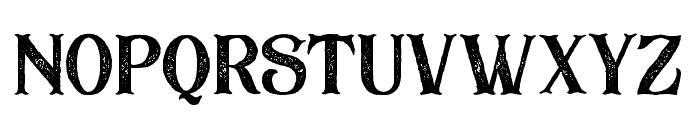 BlackDramaRough Font LOWERCASE