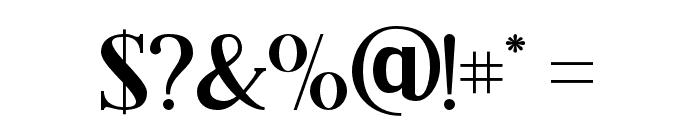 BlackDramaSerif Font OTHER CHARS