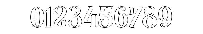 BlackQualityOutline Font OTHER CHARS