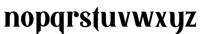 BlackQuality Font LOWERCASE