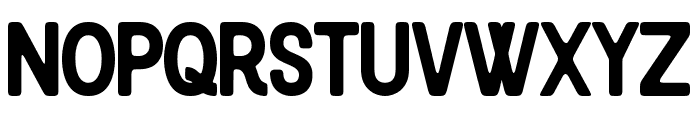 Blackcode Sans Clean Font UPPERCASE